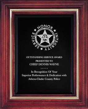 VOLUSIA Cherry Award Plaque