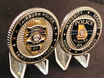 FAIRBURN POLICE GA COIN