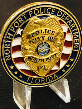 NORTHPORT POLICE FL COIN