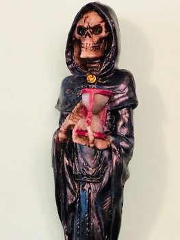 Grim Reaper Ball Point Pen Hour Glass