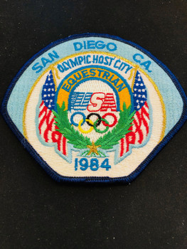 1984 OLYMPICS PATCH