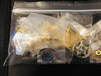 Awesome & Cheap SHERIFF Pin Kit 10 PINS