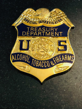 US TREASURY SPECIAL INVESTIGATIONS PAPERWEIGHT