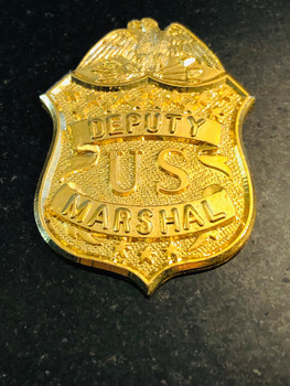 U.S. MARSHAL OLD SCHOOL BADGE