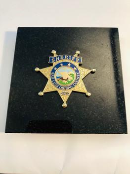 SAN LUIS OBISPO SHERIFF PAPERWEIGHT