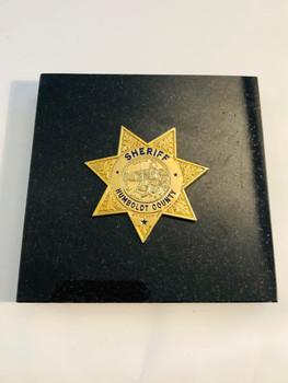 HUMBOLDT SHERIFF PAPERWEIGHT