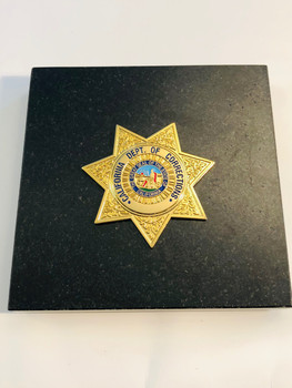 CA DEPT. OF CORRECTIONS PAPERWEIGHT