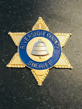 RIVERSIDE SHERIFF PAPERWEIGHT RARE LAST ONE