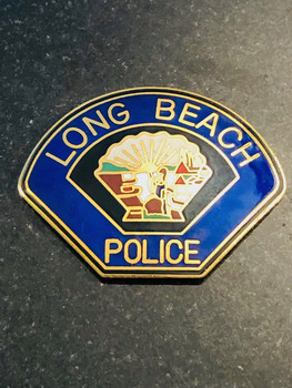 LONG BEACH POLICE PAPERWEIGHT