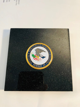 BUREAU OF PRISONS PAPERWEIGHT