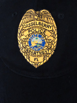 CASSELBERRY POLICE HAT GOLD
