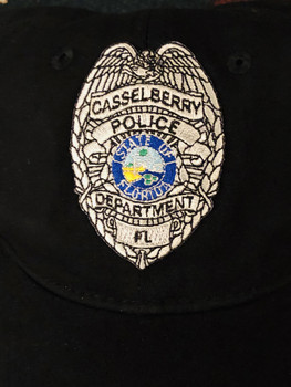 CASSELBERRY POLICE HAT SILVER