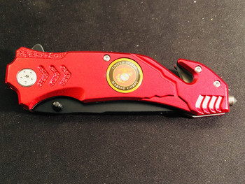 MARINE CORPS RESCUE TOOL IN RED