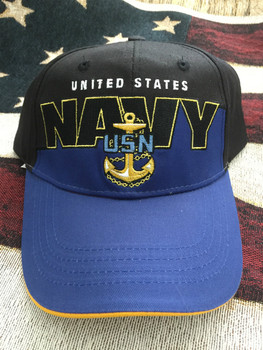 NAVY & ANCHOR ROYAL Two Tone HAT