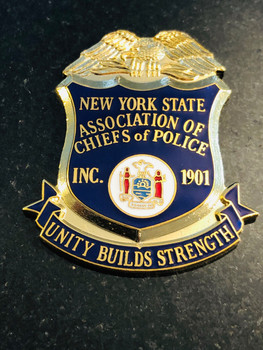 NY STATE POLICE CHIEFS PAPERWEIGHT