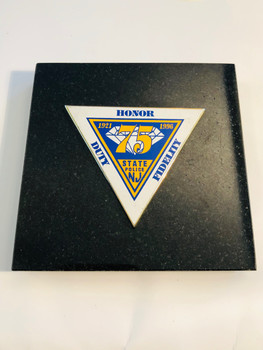 NJ STATE TROOPERS 75TH PAPERWEIGHT