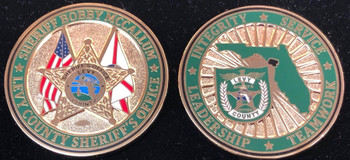 LEVY COUNTY SHERIFF FLORIDA COIN