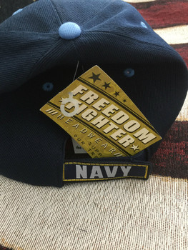 NAVY DEFENDING FREEDOM SINCE 1775 HAT