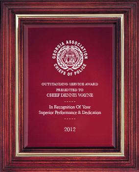Cherry Award Plaque (Large) 8