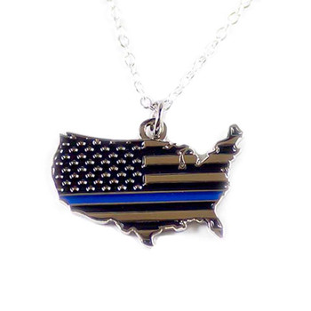 hin Blue Line Country Necklace!