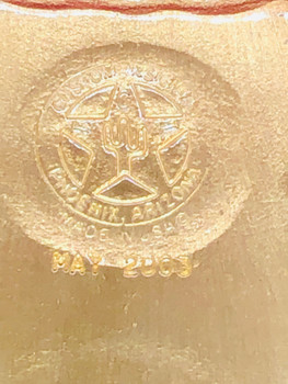 ARIZONA HIGHWAY PATROL CAP BADGE
