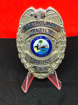 UMATILLA FLORIDA POLICE BADGE