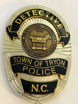 TRYON POLICE NORTH CAROLINA DETECTIVE BADGE