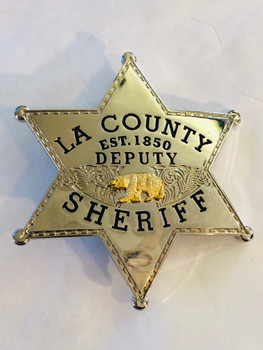 OLD SCHOOL LA SHERIFF REPLICA STAR