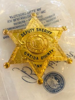 ONEIDA COUNTY SHERIFF NEW YORK STAR