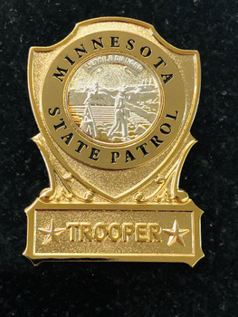 MINNESOTA STATE PATROL TROOPER PAPERWEIGHT RARE LAST ONE