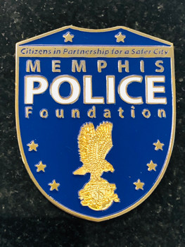MEMPHIS POLICE FOUNDATION PAPERWEIGHT RARE