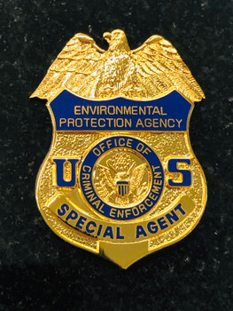 ENVIRONMENTAL PROTECTION AGENCY CRIMINAL ENFORCEMENT PAPERWEIGHT
