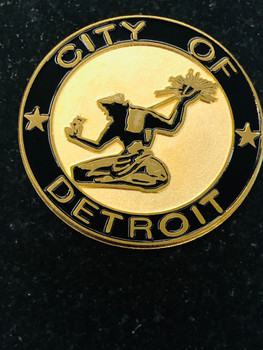 CITY OF DETROIT PAPERWEIGHT