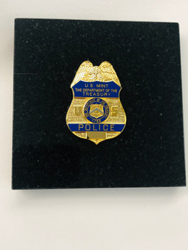 US MINT POLICE PAPERWEIGHT