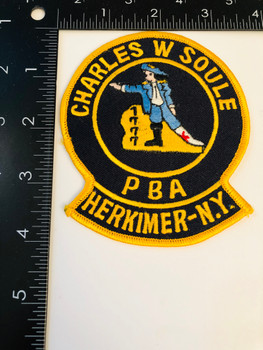 HERKIMER New York PBA PATCH