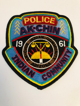 AK-CHIN INDIAN COMMUNITY POLICE 1961