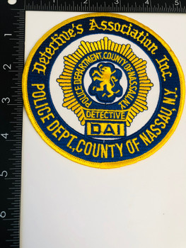 NASSA COUNTY NEW YORK DETECTIVES ASSOCIATION PATCH