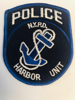NEW YORK CITY POLICE HARBOR UNIT PATCH