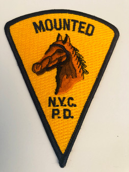 NYPD MOUNTED UNIT PATCH