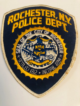 OLD SCHOOL ROCHESTER POLICE PATCH RARE
