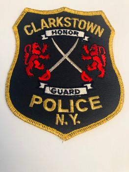CLARKSTOWN NY POLICE HONOR GUARD