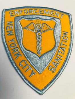 NEW YORK CITY SANITATION ENFORCEMENT PATCH
