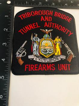 TRIBOUROUGH BRIDGE & TUNNEL AUTHORITY FIREARMS UNIT PATCH
