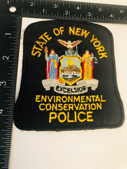 NY STATE ENVIRONMENTAL CONSERVATION POLICE PATCH