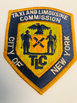 NYC TAXI & LIMOUSINE COMMISSION PATCH