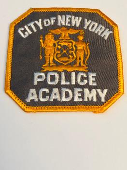 CITY OF NEW YORK POLICE ACADEMY PATCH