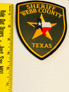 SHERIFF WEBB COUNTY TEXAS PATCH