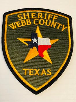SHERIFF WEBB COUNTY TEXAS PATCH