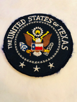 UNITED STATES OF TEXAS PATCH