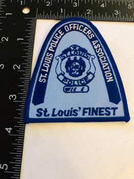ST LOUIS POLICE OFFICERS ASSOCIATION PATCH